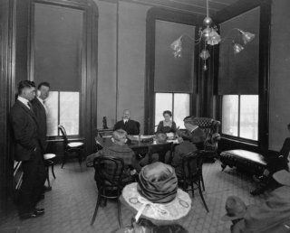 early 1900s photo Judge Lindsey in chambers, Juvenile Court, Denver, Colo. gr b5