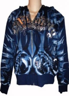 Men's Ed Hardy Hoodie Hooded Sweat Jacket Sweatshirt Available in Several Sizes (XL) at  Men�s Clothing store: Fashion Hoodies