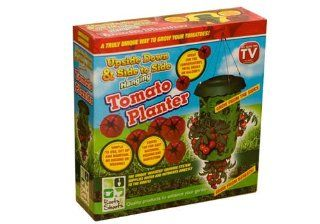 UPSIDE DOWN HANGING TOMATO PLANTER AS SEEN ON TV SWIVAL [Garden & Outdoors] : Patio, Lawn & Garden