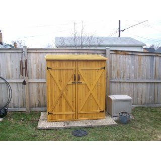 Leisure Season Medium Storage Shed, Solid Wood, Decay Resistant : Tuff Shed : Patio, Lawn & Garden