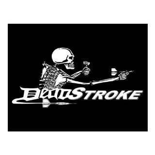 Players Brand Dead Stroke T Shirt (Dart Logo) : Billiards Equipment : Sports & Outdoors