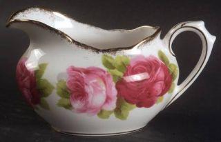 Royal Albert Old English Rose (Brushed Gold Trim) Mini Creamer, Fine China Dinne
