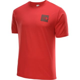 THE NORTH FACE Mens N.S.E. Reaxion Short Sleeve T Shirt   Size: Small, Tnf Red