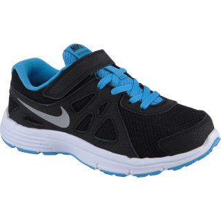 NIKE Boys Revolution 2 Running Shoes   Preschool   Size: 13, Black/metallic