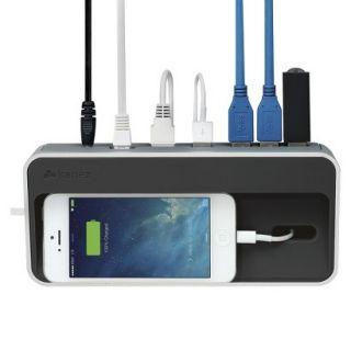 Kanex Simple Dock 3 Port USB 3.0 with Hub Gigabit Ethernet and Charging Station