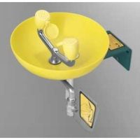 Speakman SE 495 Stainless steel & yellow plastic Traditional Series Round Bowl E