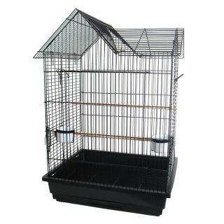 YML 3/4 in. Bar Spacing Villa Top Parrot Cage   Bird Cages
