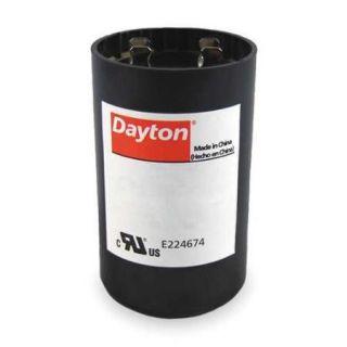 DAYTON 4UHC7 Motor Start Capacitor, 645 774 MFD, Round