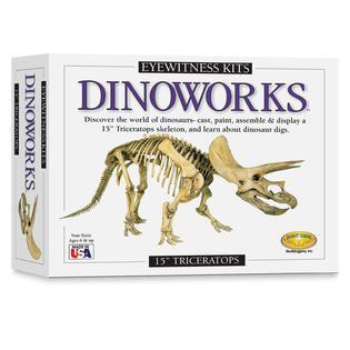 Skullduggery Eyewitness Dinoworks Triceratops Skeleton Casting Kit