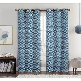 Amadora Foamback Printed Panel Pair 76x84   Home   Home Decor   Window