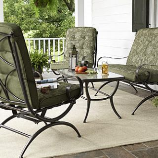 Jaclyn Smith Cora 4 Piece Seating Set Outdoor Living Patio