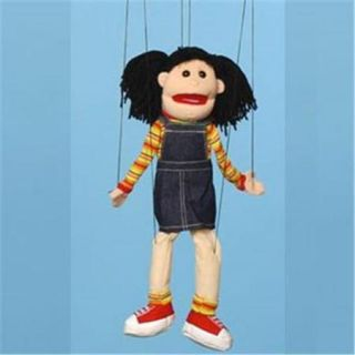 Sunny Toys WB1572 22 inch Hispanic Girl, Marionette People Puppet
