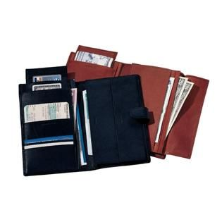 Royce Leather Deluxe Passport & Travel Case   Clothing, Shoes