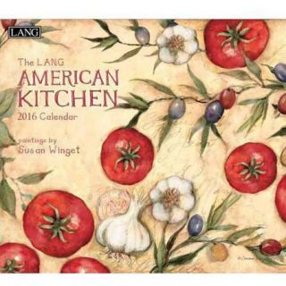 Lang American Kitchen 2016 Wall Calendar