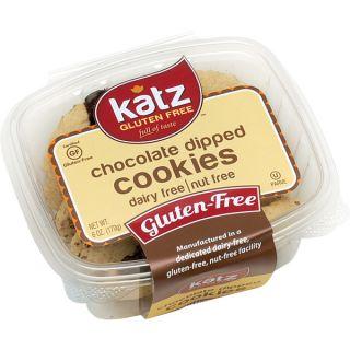 Katz Gluten free Chocolate Dipped Cookies (2 Pack)   16976060