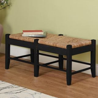 Ashby Wood Bench, Black