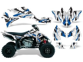 2006 2009|Suzuki|LTR|450::AMRRACING ATV Graphics Decal Kit:Expo Blue