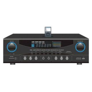 500 Watt Stereo Receiver with Ipod Dock