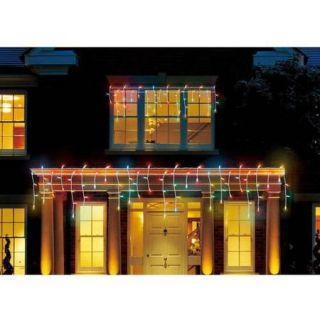 Holiday Time LED Micro Icicle Christmas Lights Multi, 450 Count