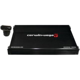 Cerwin Vega Mobile XED1000.1M XED Class AB Monoblock Amp (1,000W Max)