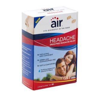 Air Drug free Headache Relief Nasal Breathing Aid (Pack of 12