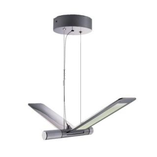 Filament Design Duran 144 Light Ceiling Silver LED Pendant DISCONTINUED CLI SW7780376