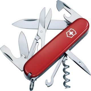 Victorinox of Switzerland Swiss Army Outdoor Climber Pocket Knife/Multi Tool 53381
