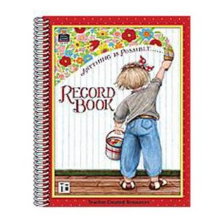 Teacher Created Resources Me Anything Is Possible Record Bk Lesson Planner