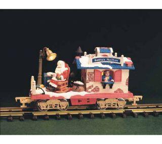 New Bright Holiday Express Santas Mail Box Car —