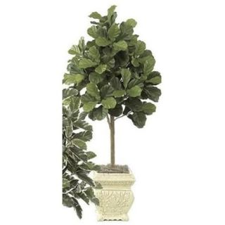 Autograph Foliages W 2320   5 Foot Fiddle Leaf Fig Tree   Green
