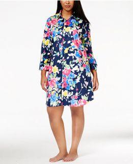 Lauren Ralph Lauren Plus Size Floral Print Sleepshirt   Bras, Panties