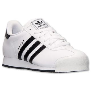 Women's adidas Originals Samoa Shoes White Black G23426
