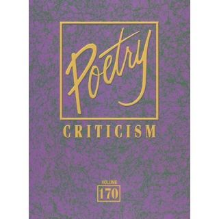 Poetry Criticism ( POETRY CRITICISM) (Hardcover)