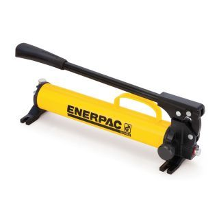 """ENERPAC 23 1/32"""" x 5 1/4"""" x 4 11/16"""" 1 Stage Hydraulic Hand Pump   Hydraulic Hand and Foot Pumps   4Z480