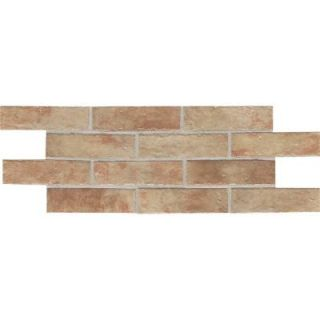 Daltile Union Square Terrace Beige 4 in. x 8 in. Ceramic Paver Floor and Wall Tile (8 sq. ft. / case) US01481P