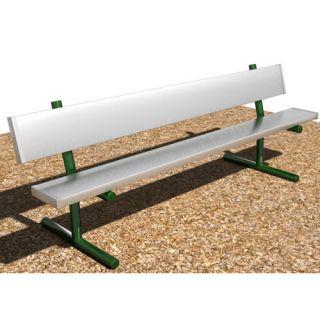 Portable Aluminum Park Bench by SportsPlay