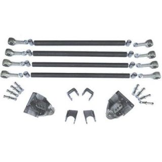 GenRight   GenRight 4 Link Suspension Kit SUP 4101   Fits Jeep TJ, YJ, CJ, Early Bronco or Toyota