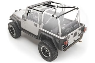 2010 2015 Jeep Wrangler Roll Cages & Accessories   Smittybilt 76903   Smittybilt SRC Roll Cage Kits