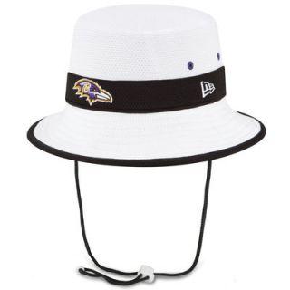 Baltimore Ravens New Era On Field Training Camp Bucket Hat   White