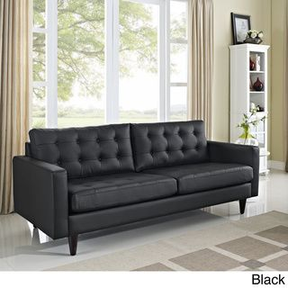 Empress Tufted Leather Sofa  ™ Shopping