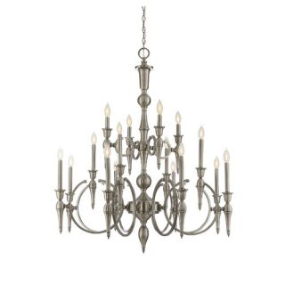 Shannon 16 Light Candle Chandelier by Savoy House