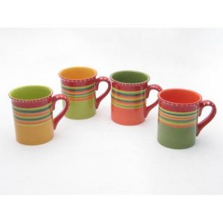 Certified International Hot Tamale 18 Oz. Mug (Set of 4)