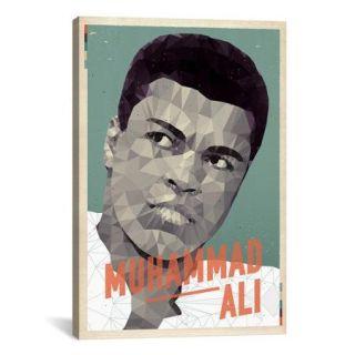 iCanvas American Flat Ali Graphic Art on Canvas