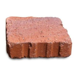 Relic 6 in. x 1.63 in. x 6 in. Red Clay Flash Paver 073602606