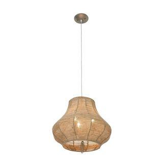Bamboo/ Paper Kata Japanese style 8 inch Honey Ceiling Lantern (China
