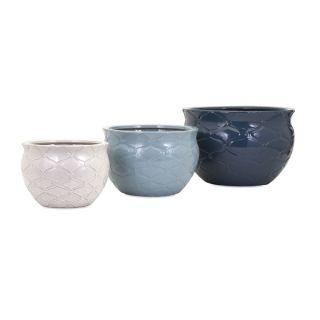Jamil Earthenware Planters (Set of 3)   17290897