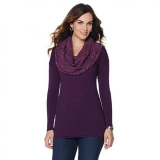 Jamie Gries Collection Cowl Neck Sweater   7825300
