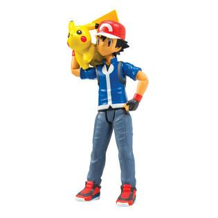 Tomy Pokémon Ash and 2 Inch Pikachu   Toys & Games   Action Figures