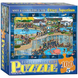 Crazy Aquarium Toys & Games Puzzles Jigsaw Puzzles on PopScreen