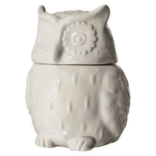 Threshold™ Stoneware Owl Cookie Jar   White